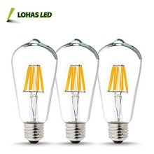 2017 High Quality LED Lighting E27 A60 A19 Led Filament Bulb Energy Saving CE Rohs Dimmable Led Light