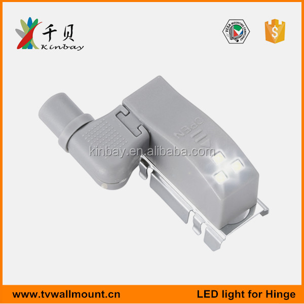 High quality hydraulic soft close led hinge lamp light with magnet