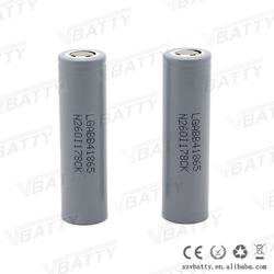 18mm*65mm Size and Li-Ion Type LG HB4 battery 1500mah 10A 18650