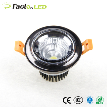 Factory 5w recessed cob led downlight spotlight