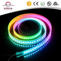 White PCB WS2812B magic digital dream color rgb led strip