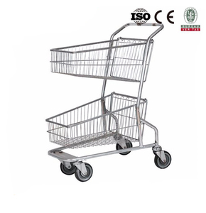 Supermarket grocery shopping trolley / cart