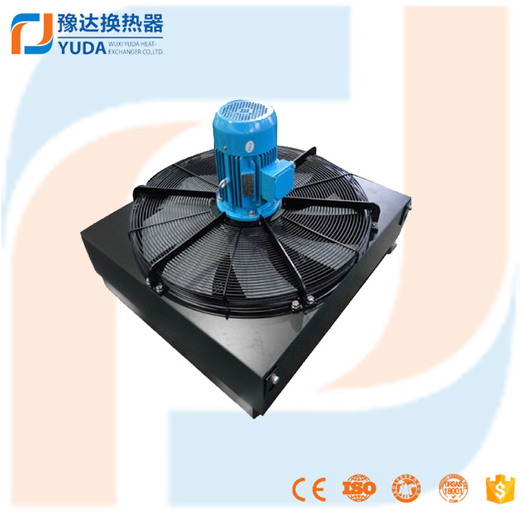 high efficient cooling with fan ,aluminium plate fin oilcoolers