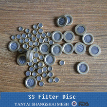 sintered stainless steel metal micro filter disc
