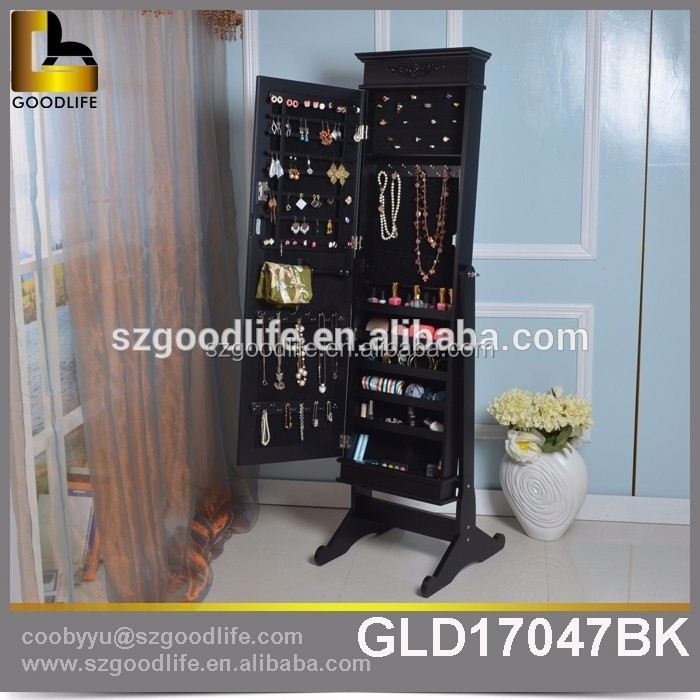 China manufacturer diy jewelry cabinet mirrored for Australia