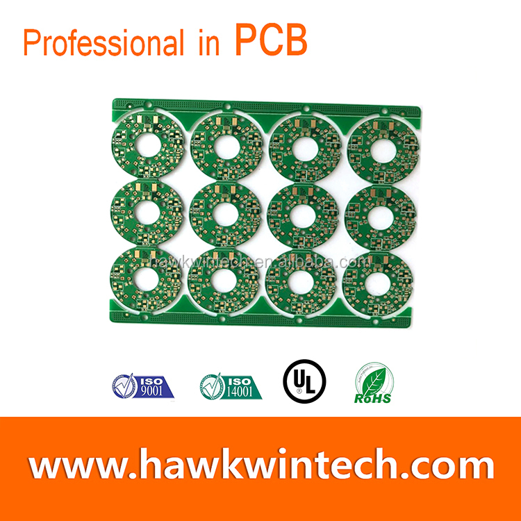 BGA ring shape immersion gold customized 2017 top selling printed circuit board/pcb assembly/led pcb assembly