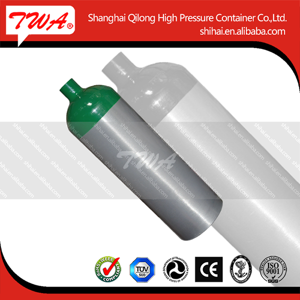 Aluminum, steel welding cng composit cylinder type 2 of ISO, EN, GB approval