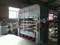 DCY1600T 4 Layer door-skin hot press
