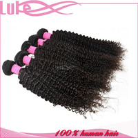 2015 Full Cuticle Wholesale Cheap Afro Kinky Curly 100% Indian Human Hair Extensions