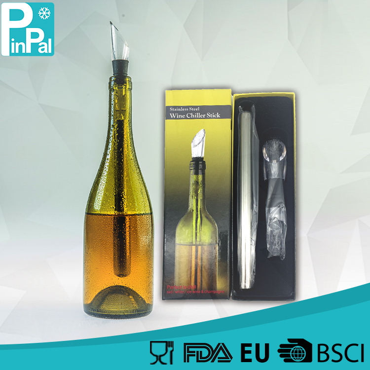 New style promotional wine bottle ice chiller carrier bag