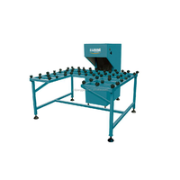 Glass edging machine with easy operation