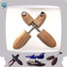wooden adjusted golden metal luxury shoe inserts