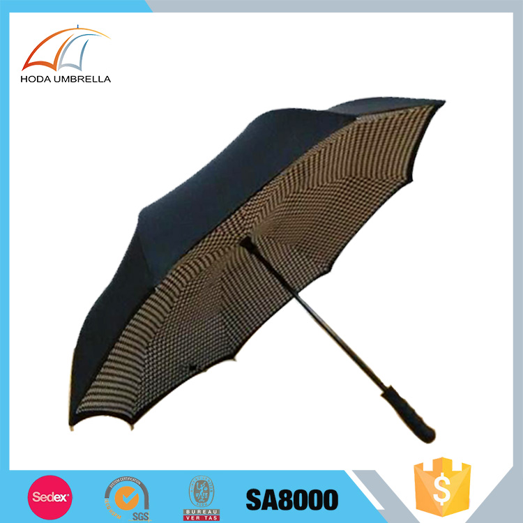 China wholesale cheap innovative reverse inverted umbrella for car
