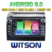 WITSON Octa-Core(Eight Core) Android 6.0 CAR DVD FOR FIAT DUCATO 2G ROM 1080P TOUCH SCREEN 32GB ROM