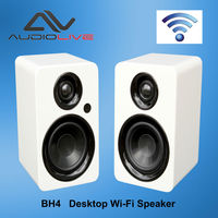 BH4 CE certificate professional 4 inch powered portable wireless bluetooth studio monitor speaker