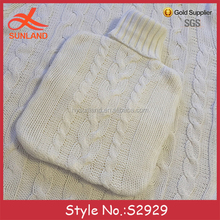 S2929 new cosy hand knitted knitting patterns thermal bottle covers hot water bottles covers