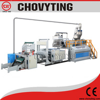 plastic stretch packing film machine