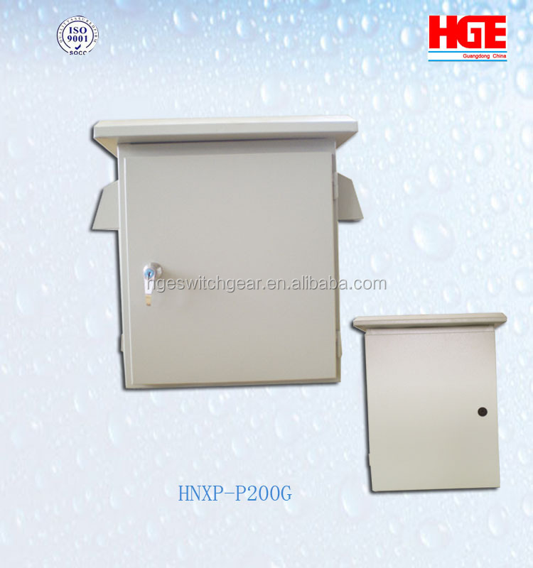 Precision OEM stainless steel metal electrical Interconnect Weatherproof Enclosure For Power Supply