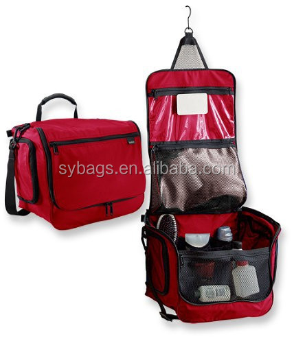 2014 hanging travel toiletry bags for women / hanging cosmetic bag / toiletry cosmetic bag sets