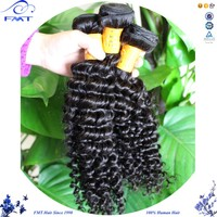 2016 Hotselling!!! 100% Raw Unprocessed Wholesale KInky Curl Hair Extensions Free Sample Free Shipping