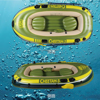 China cheap inflatable boat rowing boat 3 person