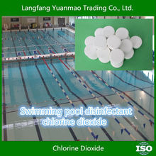 Chlorine Dioxide Blister Packing for Eco friendly Swiming Pool Disinfect