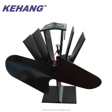 Quality and quantity assured fan for wood stove