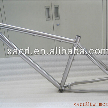titanium MTB bike frame 26er Ti bicycle frame 29er titanium montain bike frame custom