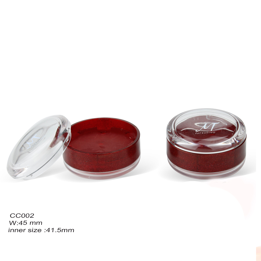 Plastic Compact Loose Powder Case