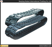2017 factory price PC30UU-3 atv rubber track and crawler for combine harvester agriculture machinery parts
