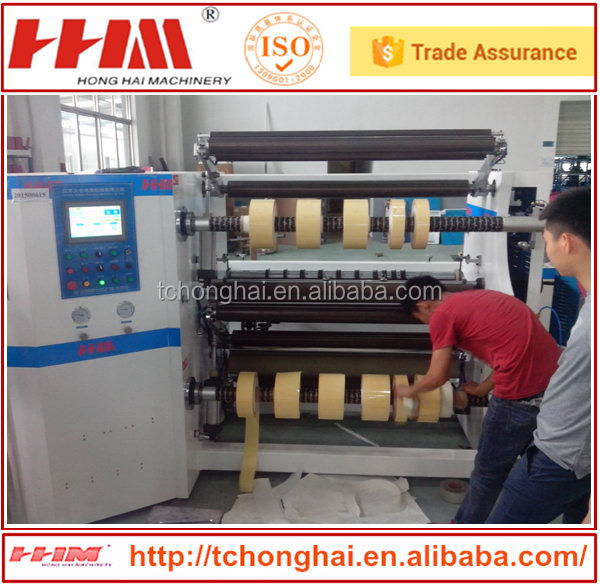 Good quality hot sell plastic film slitting machines