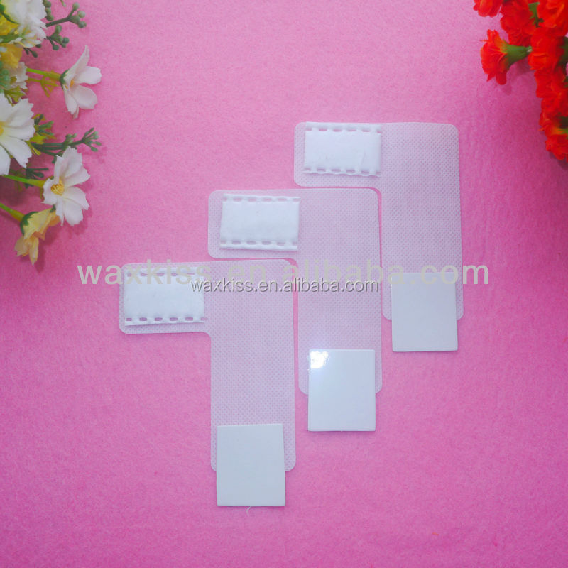 Nail cleaning accessories l-shaped wipes