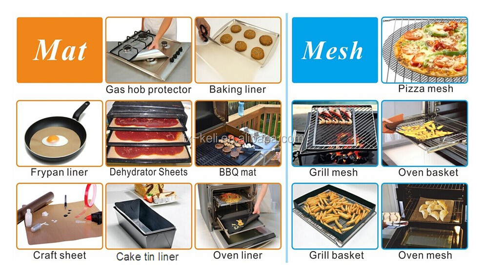 2017 new Non-stick Copper Grill & Bake Mat | works better than old black grill mats