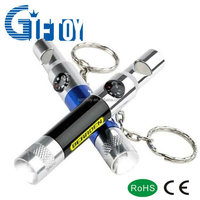 Multifunction LEd Torch with whistle and compass