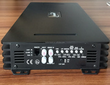 Car amplifier class d mono with 2000W RMS @ 1 ohm