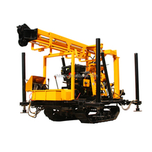 track mounted drilling rig hydraulic bore well drilling machine for sale
