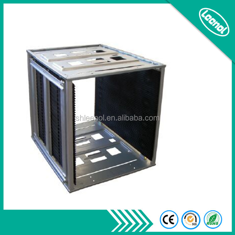 LN-F810 ESD Metal PCB Storage Electronic Antistatic Magazine Rack For Industrial