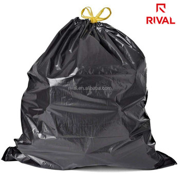 Plastic Prince Black 60 Gallon Trash Bags with 50 Bags Per Box