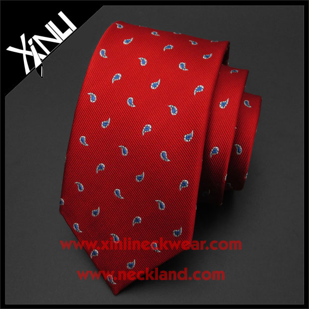 Dry-clean Only High Quality Wholesale Cheap Red Ties For Men