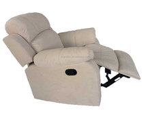 White America style sodern synthetic leather single sofa furniture, recliner chair
