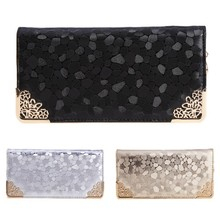Luxury Women Zipper Wallet Leather Long Female Clutch Card Holder purses wallets