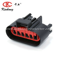 6 pin/way/pole/6P Female waterproof Tyco Accelerator Pedal Sensor Connector for GM/Hyundai/VW/AUDI/ Kia/Mitsubishi
