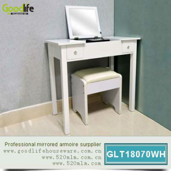 Console Modern Hallway Table in white color