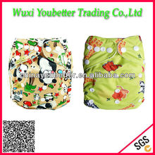 Newborn Washable Cloth Diapers with Leak guard for Baby Urine