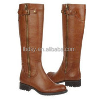 New fashion heel elastic knee high riding boots