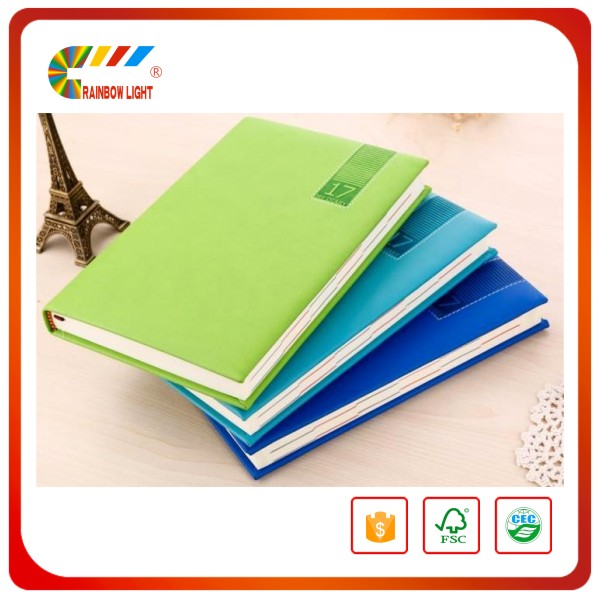 Cheap price funny personalized print A5 leather notebook cover