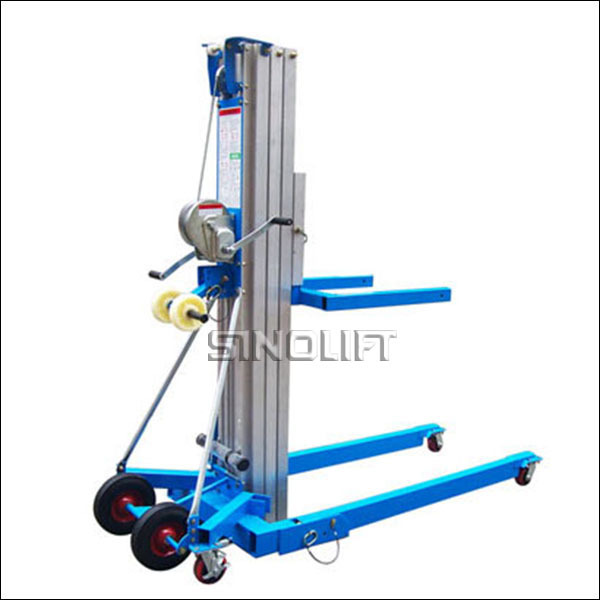 HOT! Sinolift LGA Manual Material Lift