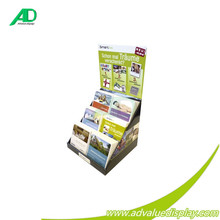 Foldable Cardboard A4 Magazine Brochure Holder