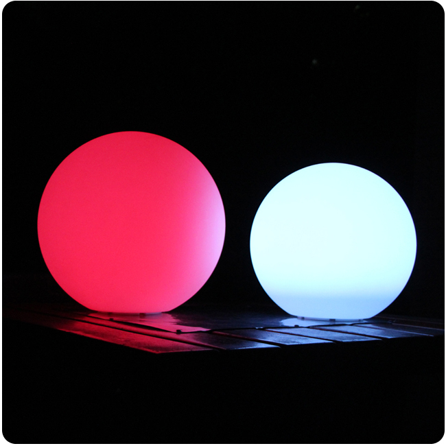 35cm Magic RGB led Ball outdoor Glowing Sphere waterproof pool color changing Night Lights Ball for Home Decoration