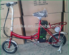 12inch Brush Motor folding electric bicycle KB-16-1